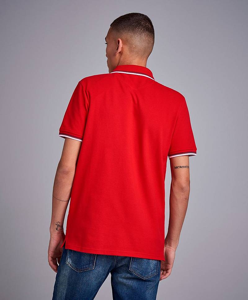 Tipped Poloshirt