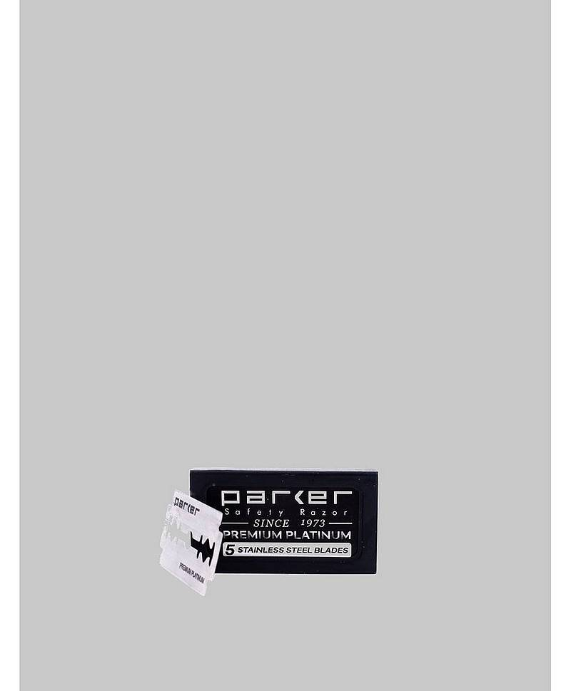 Parker Double Edge Razor Blades 5-pcs
