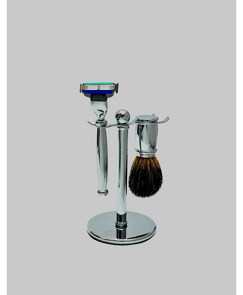 Chrome 17 Shave Set