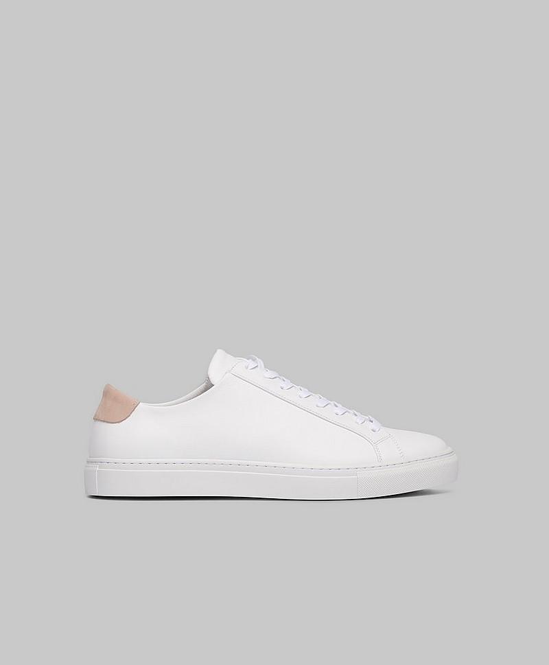 Filippa K Sneakers Morgan Low Mix Sneakers Hvit Sko