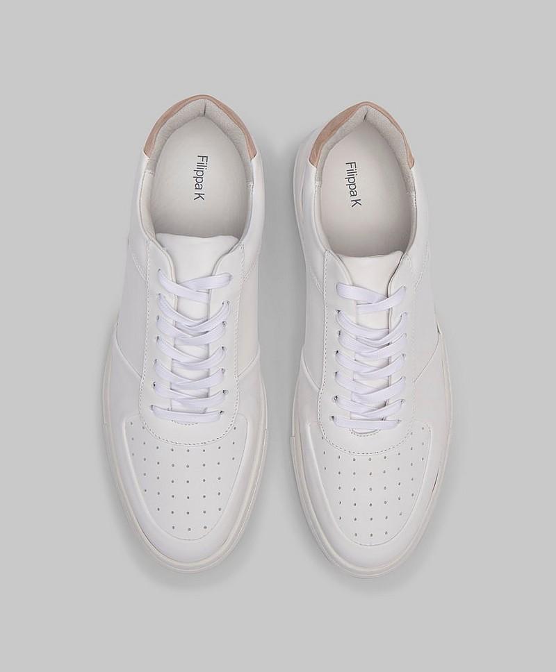 Filippa K Sneakers Robert Low Mix Sneakers Hvit Sko