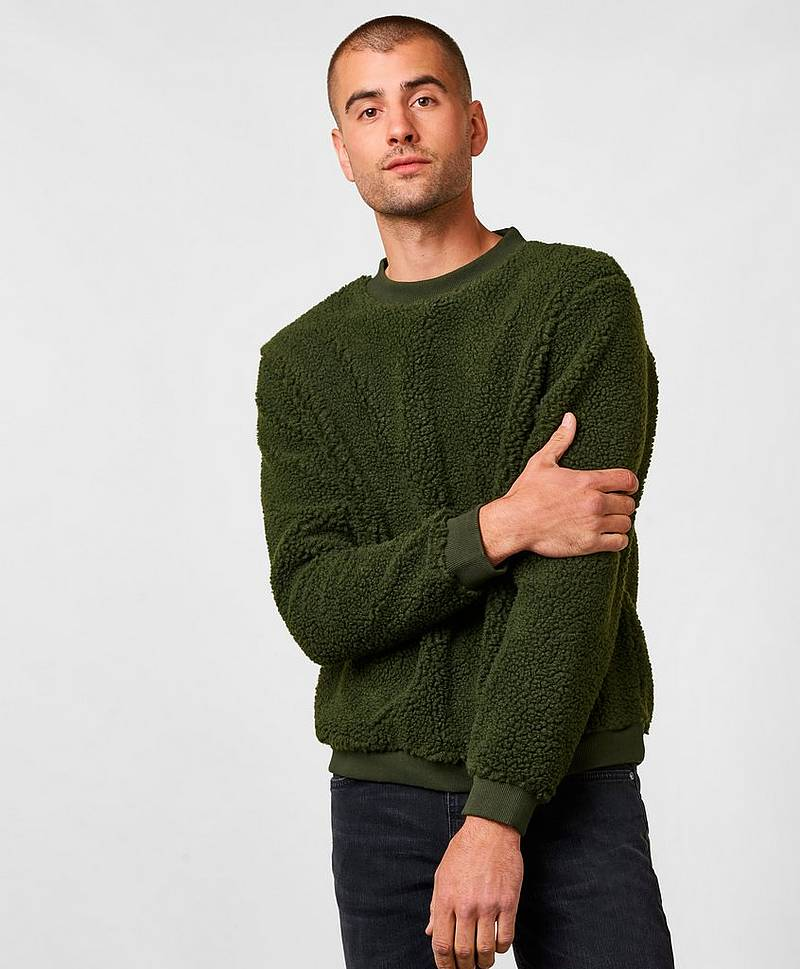 Jeffery Pile Sweater