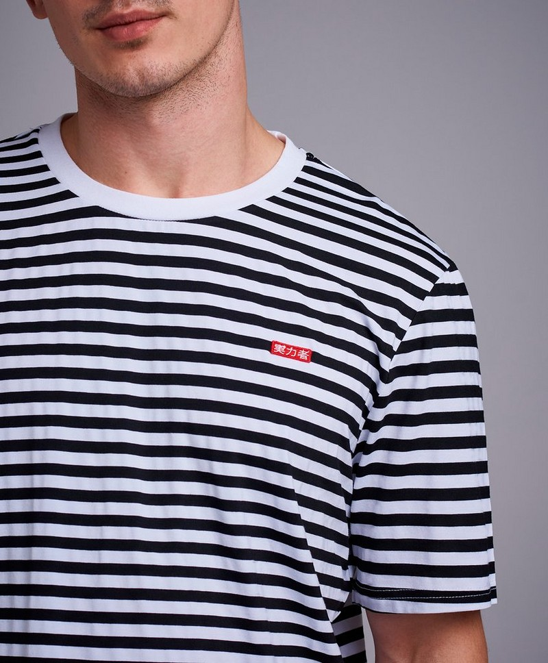 T-Shirt Striped relaxed tee