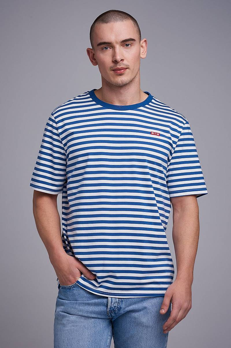 Striped relaxed tee