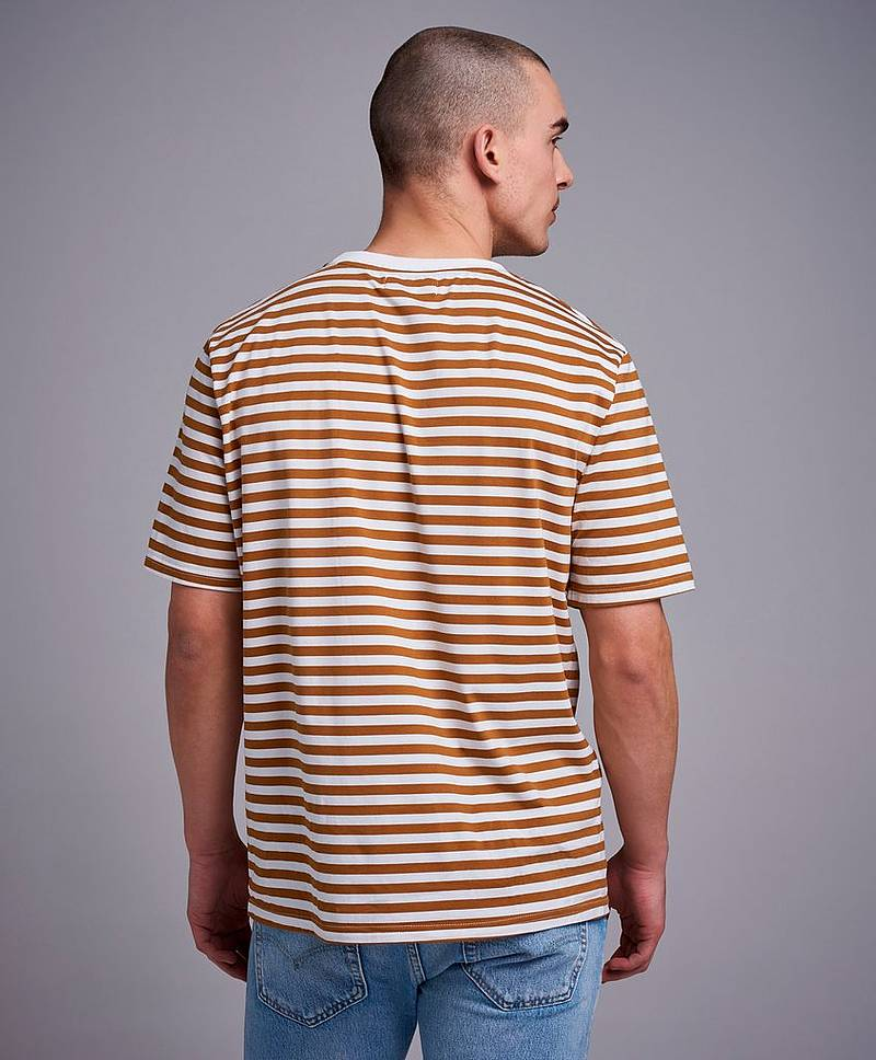 T-Paita Striped relaxed tee