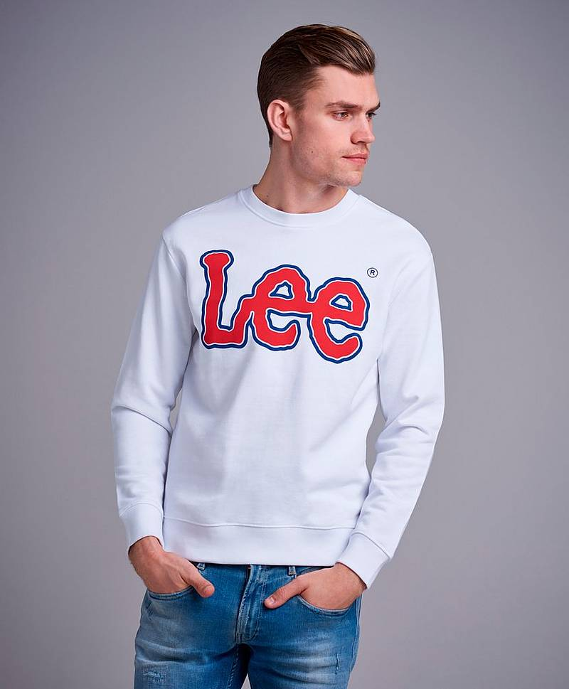 Logo Sweat White