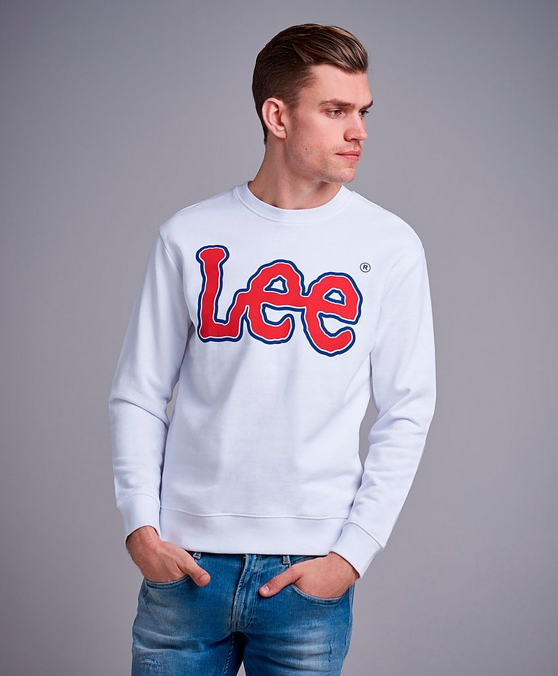 Sweatshirt Logo Sweat White