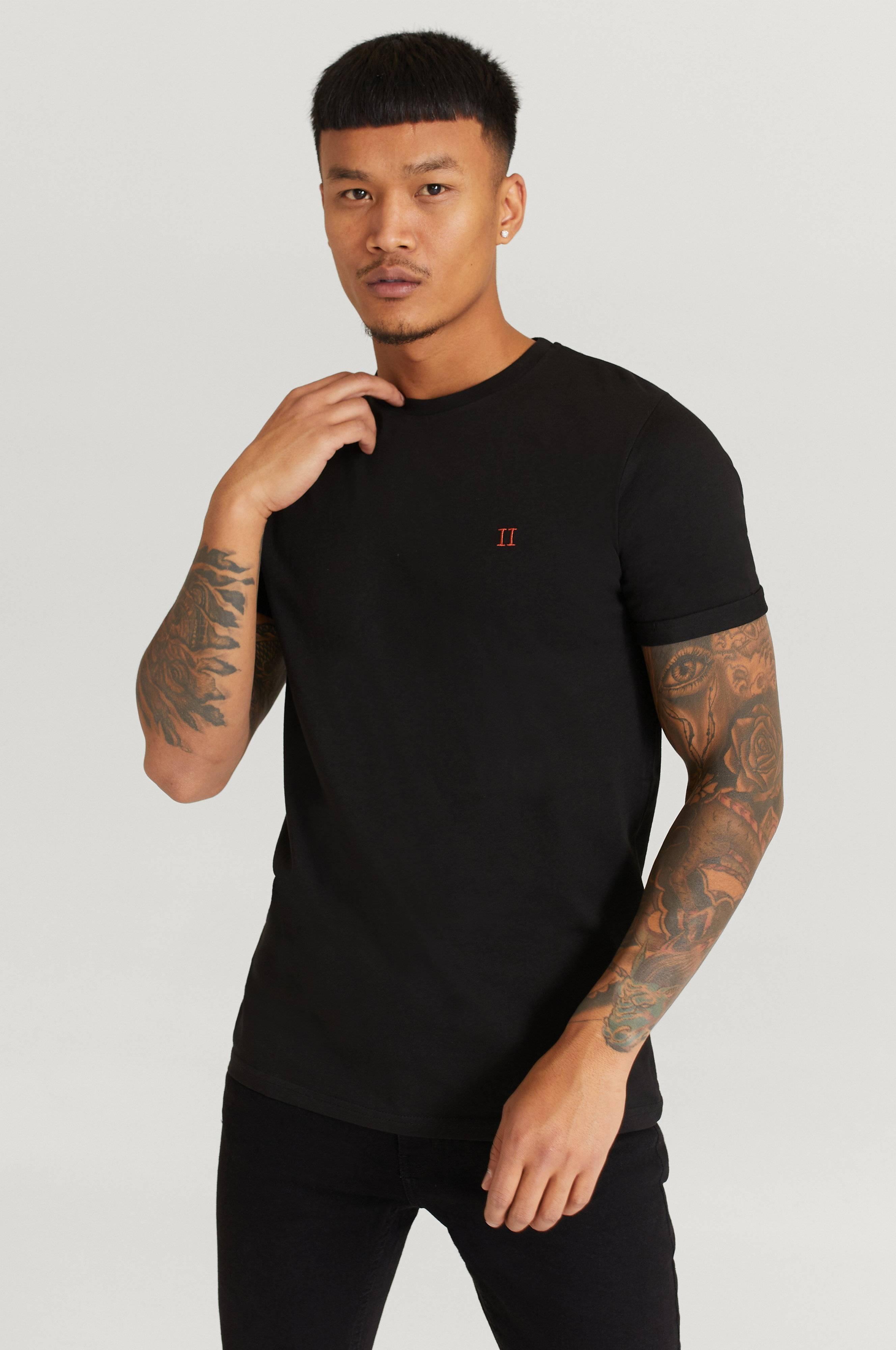 Les Deux Nørregaard T-Shirt T-shirts & linnen Svart