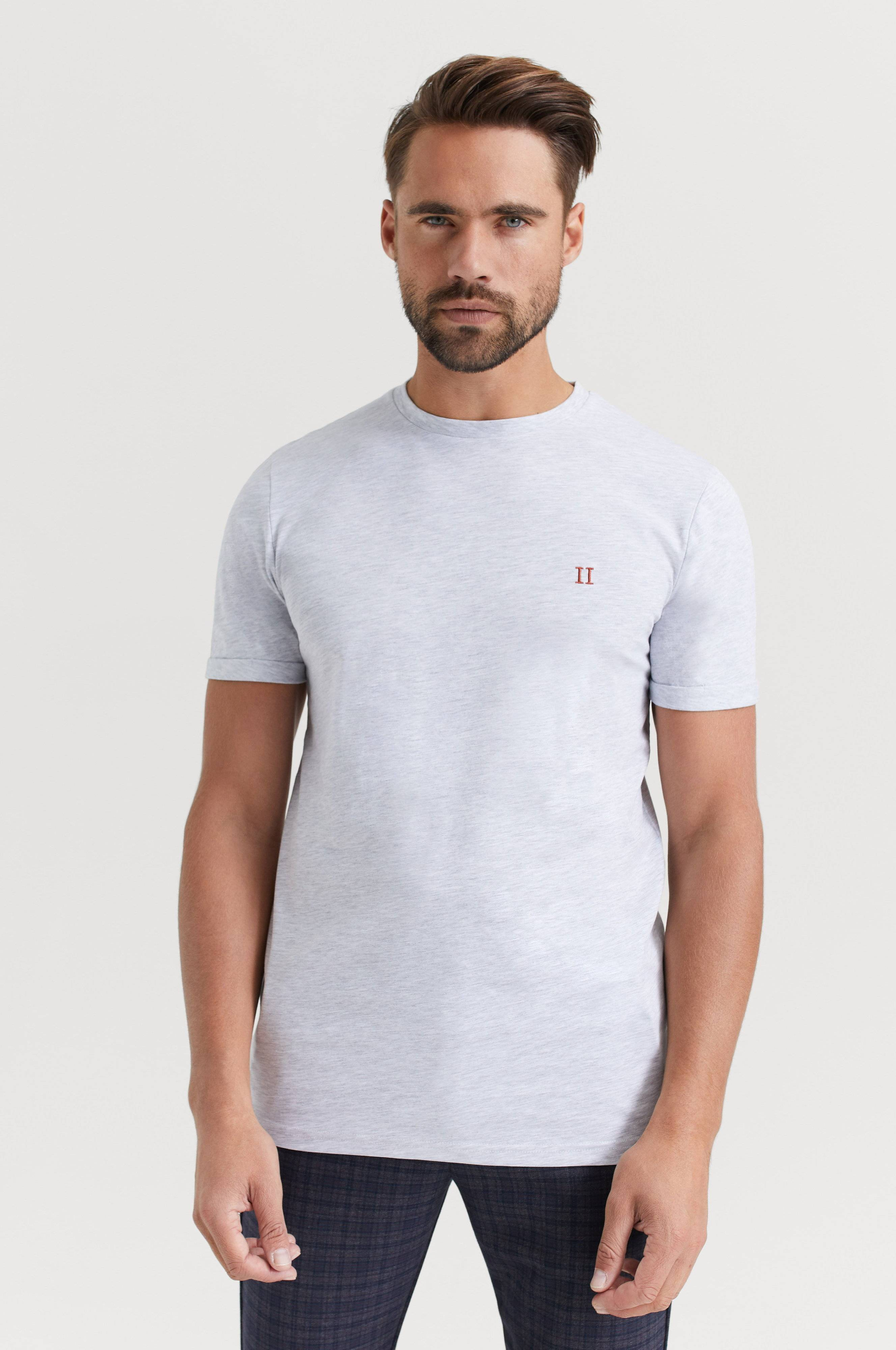 Les Deux Nørregaard T-Shirt T-shirts & linnen Snow