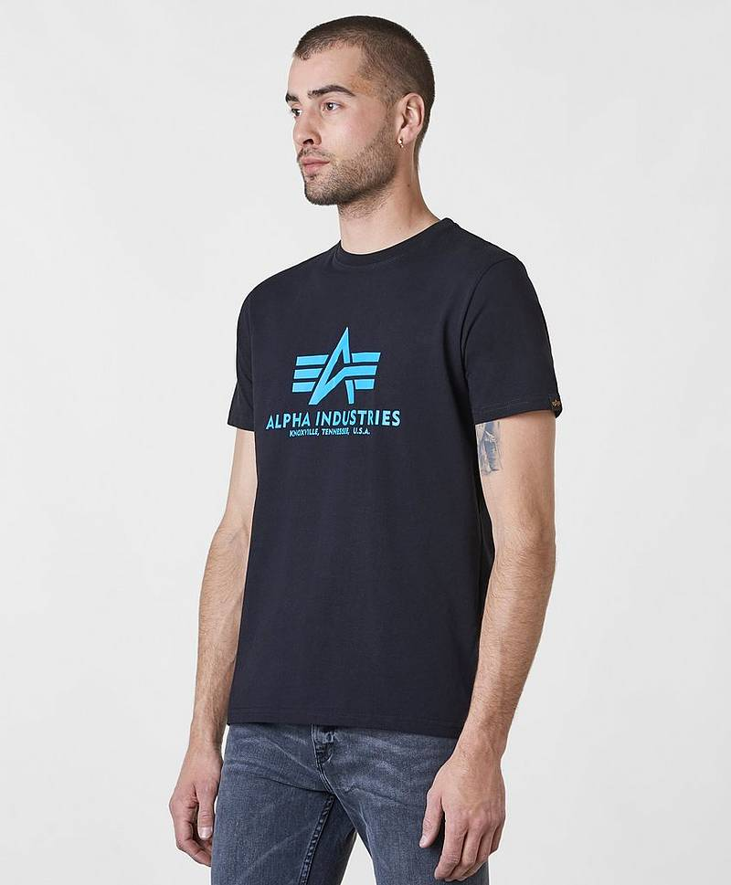 Basic Tee 93 Black / Blue