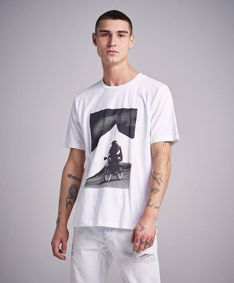 BMX Photoprint Graphic Tee 112 Bright White