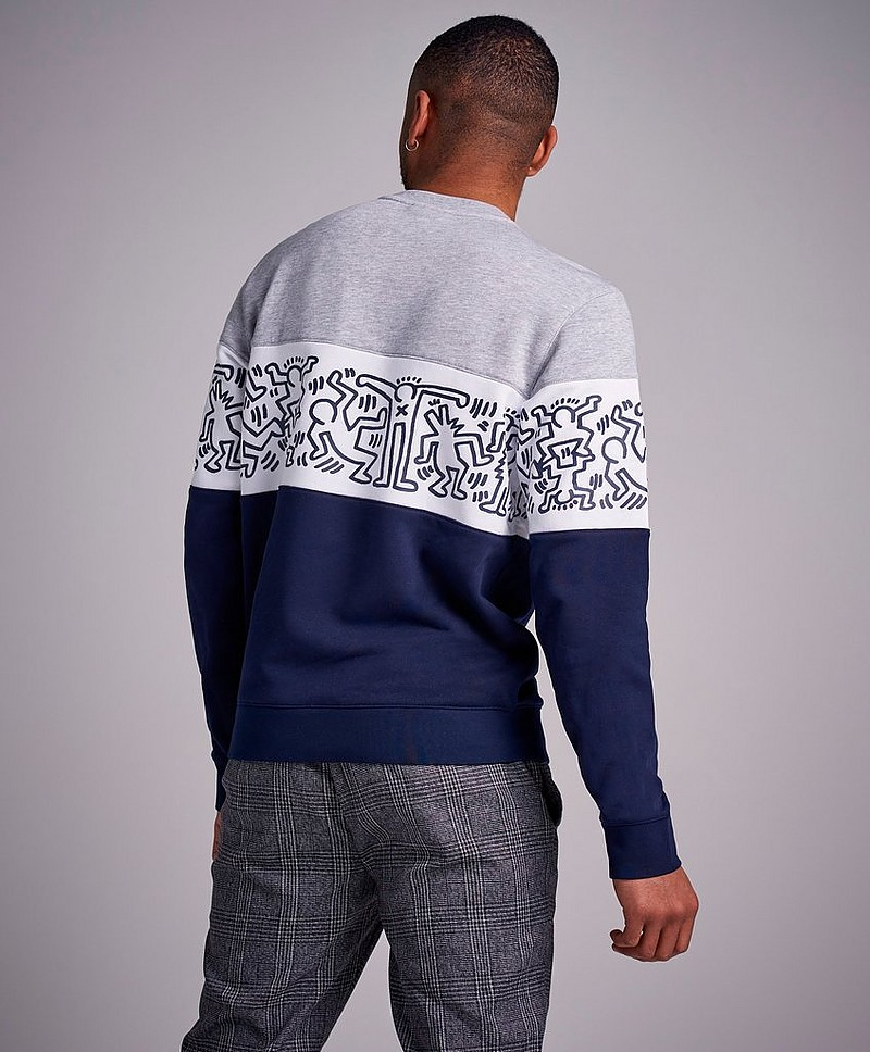 Sweatshirt Keith Haring Theme Sweat J1T Marine