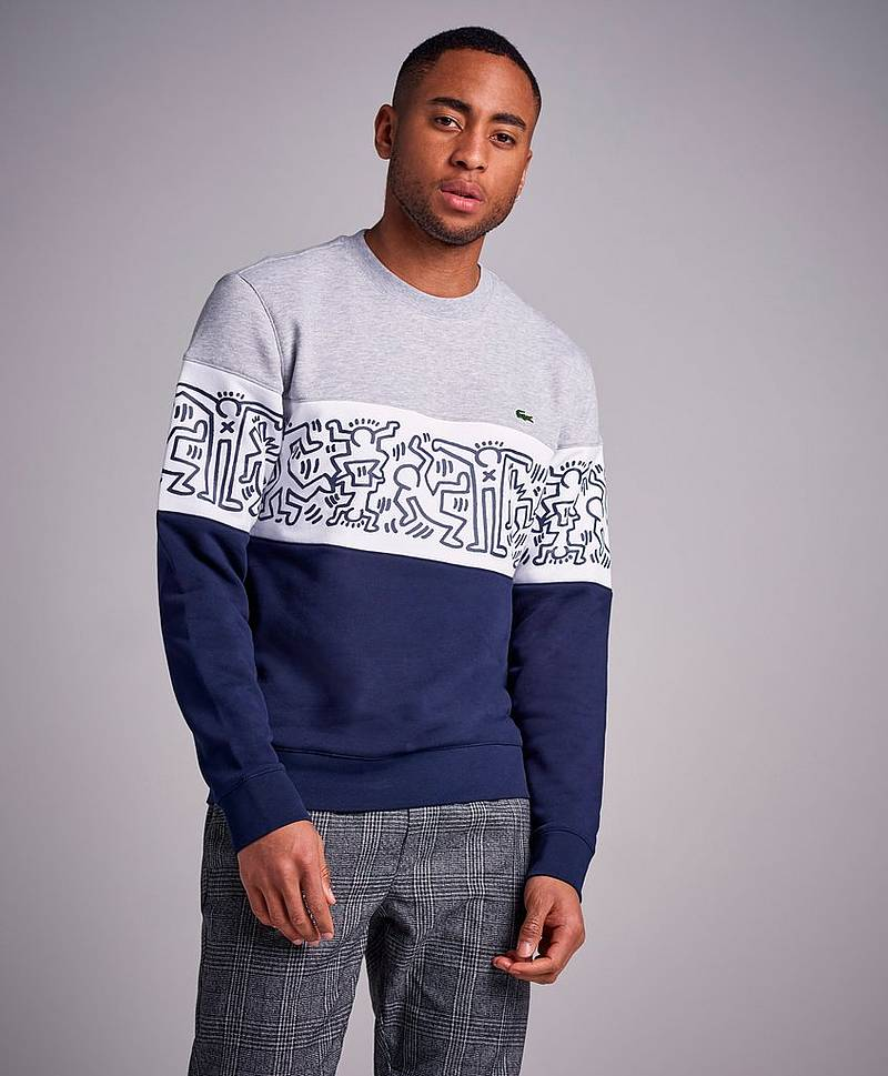 Keith Haring Theme Sweat J1T Marine