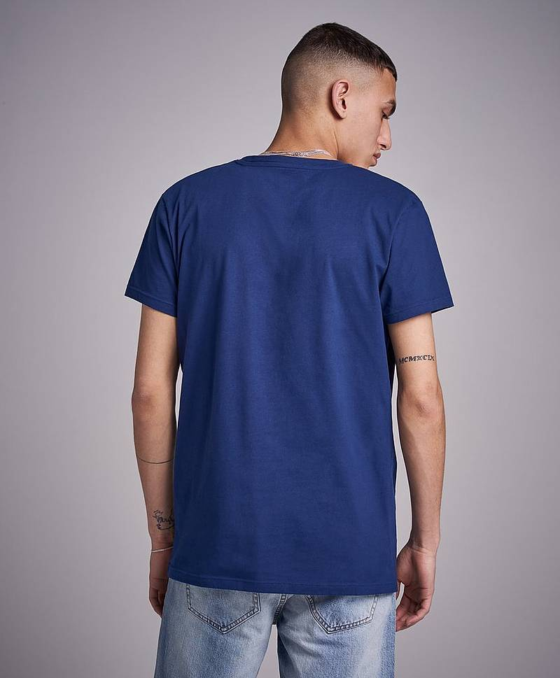 Crew Neck T-shirt 423 Persian blue