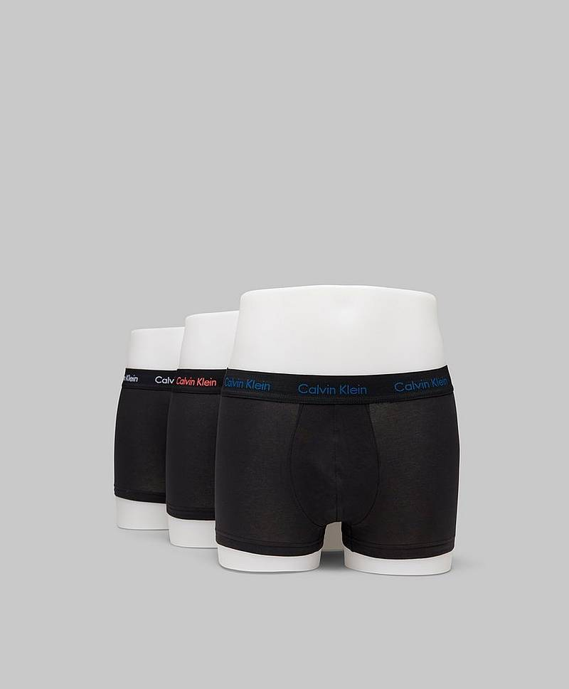 3-pack Trunk Lowrise Cotton Stretch GMP Black