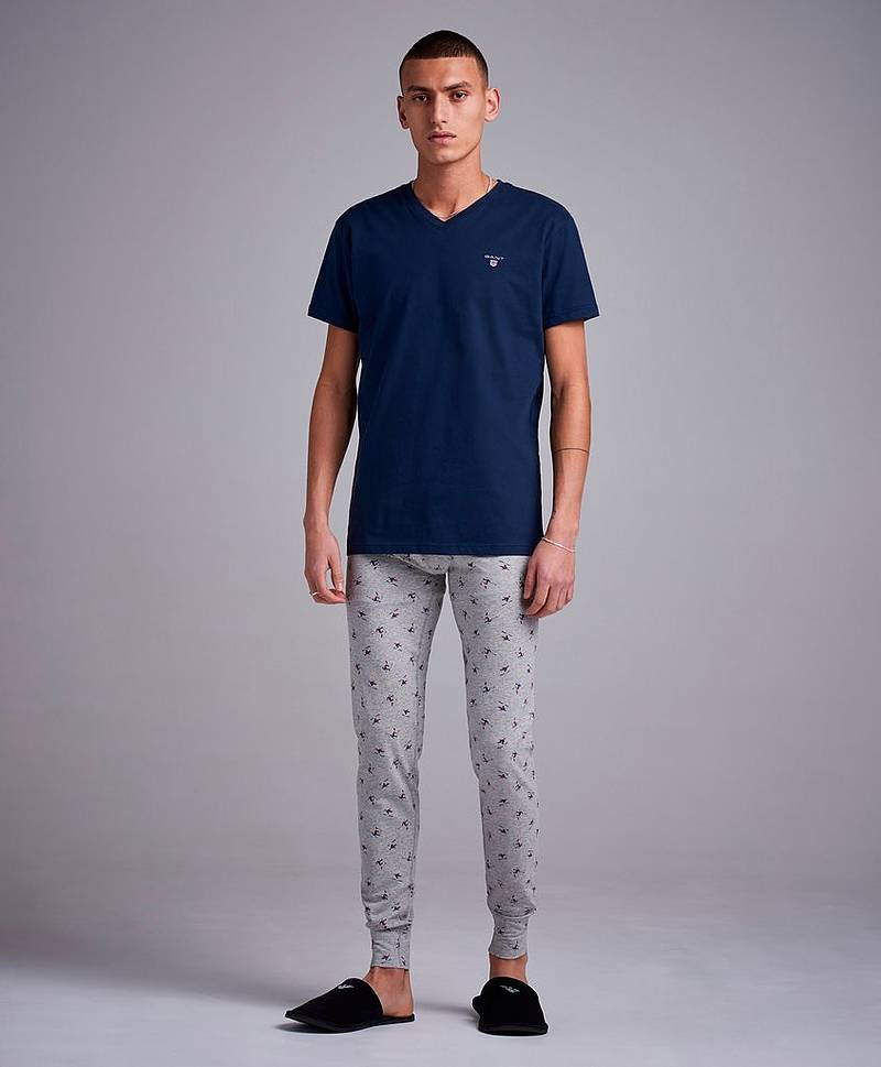 Long Johns Skier 093 Grey Melange