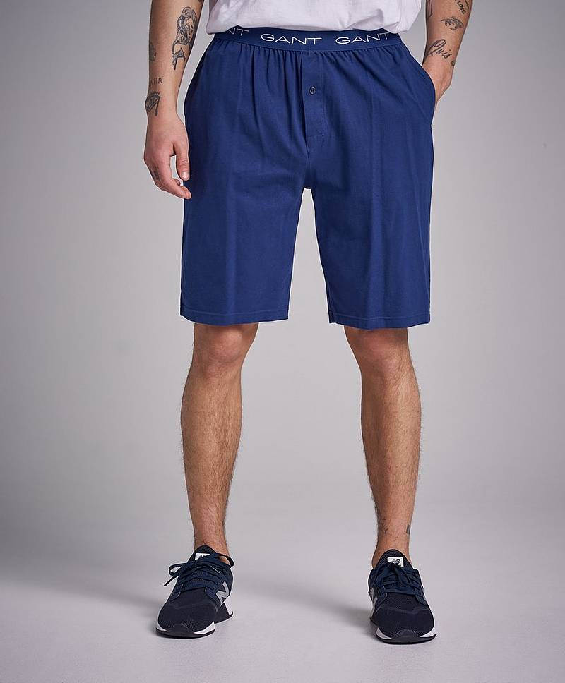 Jersey Pajama Shorts 423 Persian blue