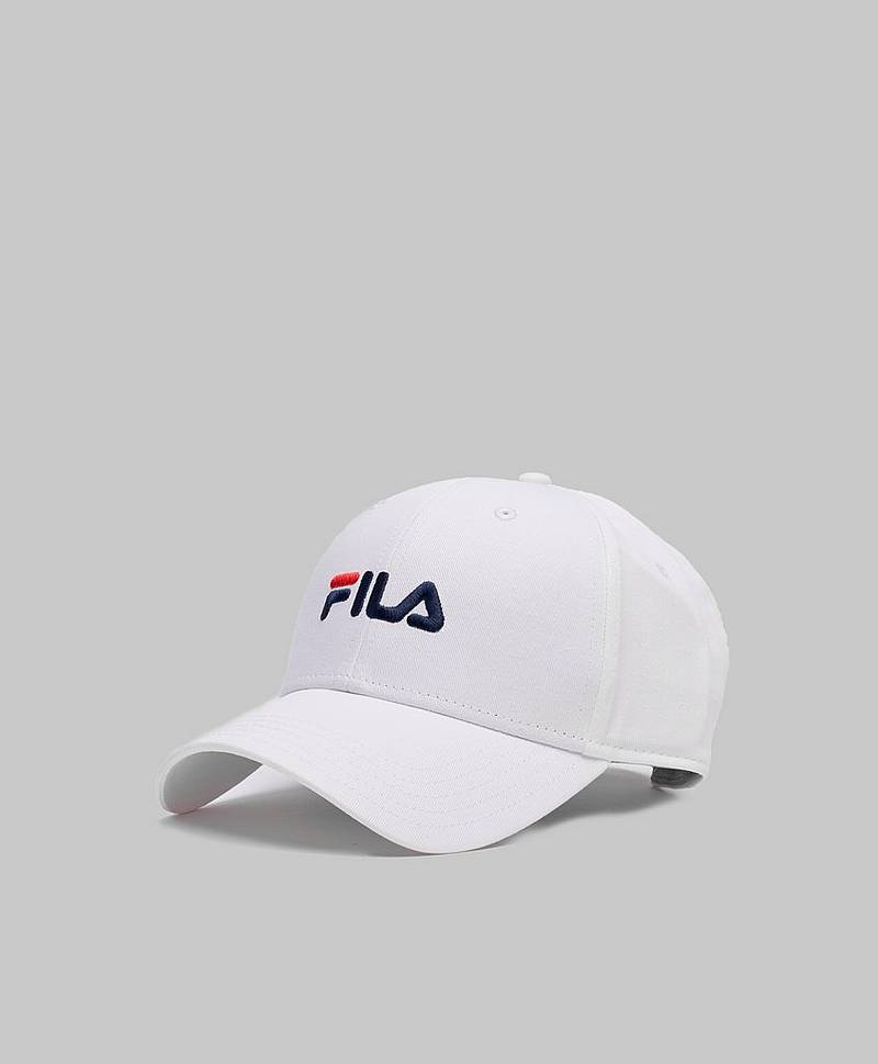 6 Panel Cap Bright White