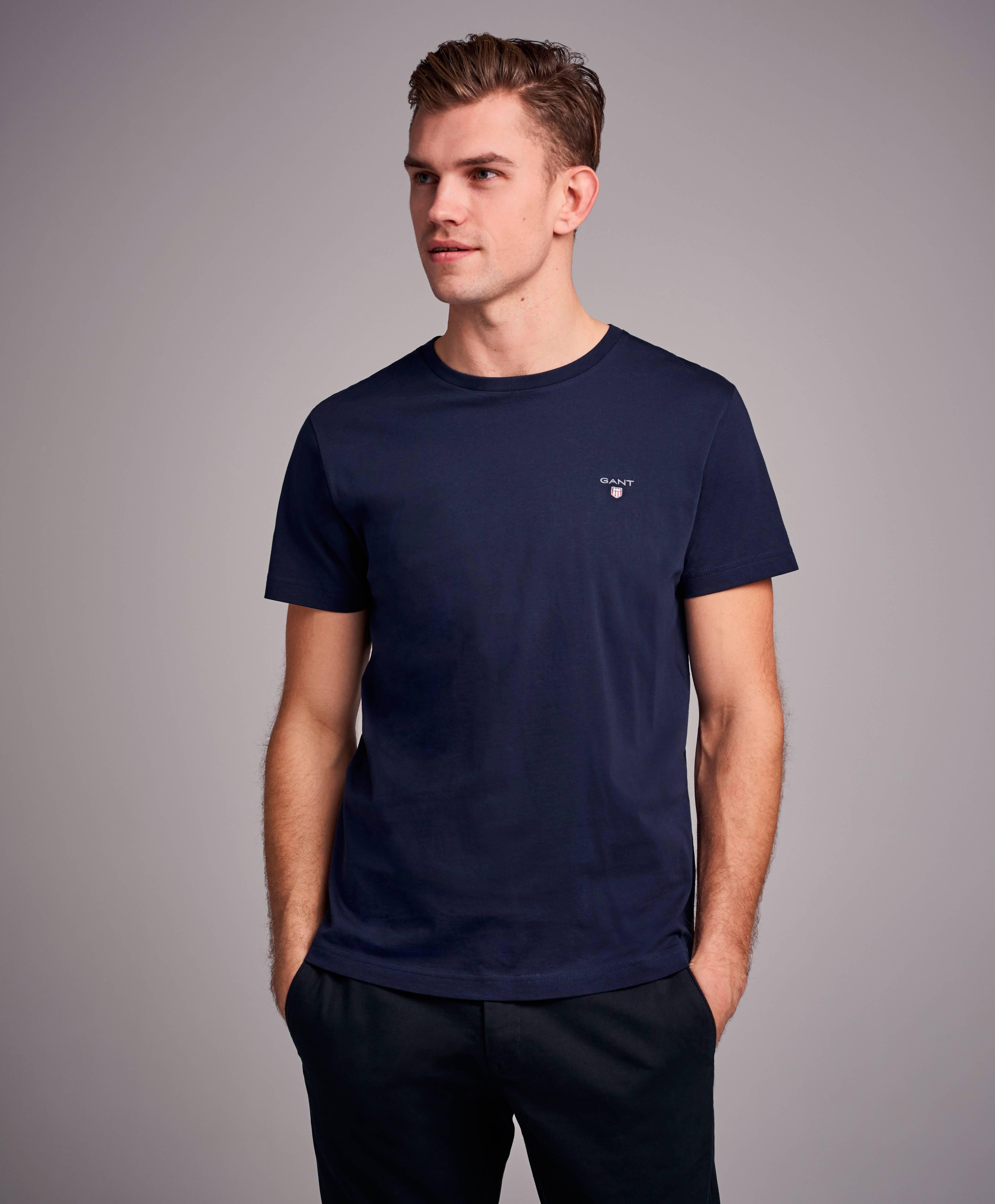 813699da Gant The Original SS T-shirt - Blå - Klær- Stayhard.no