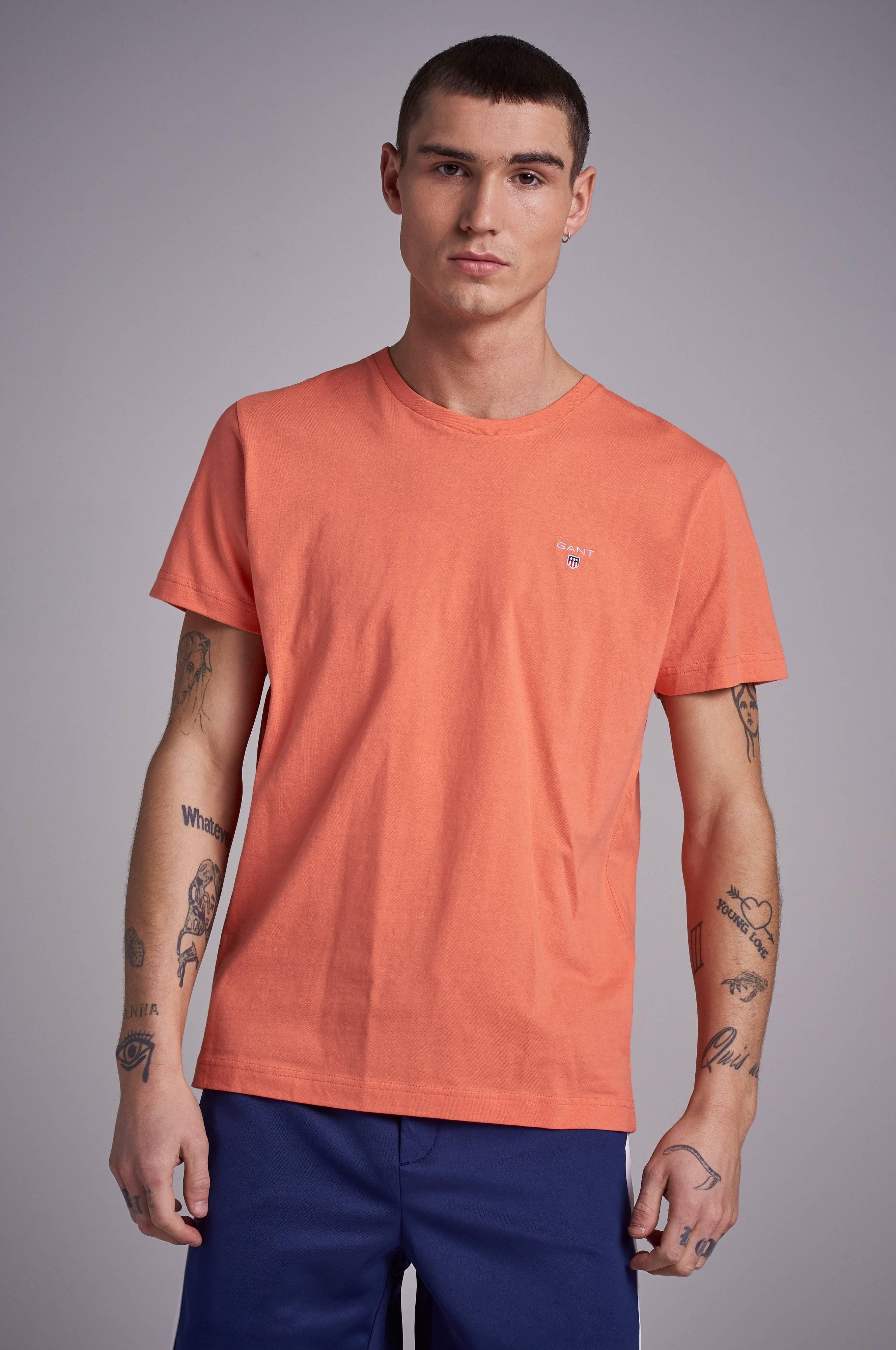 329cd421 Gant The Original SS T-shirt - Rød - Klær- Stayhard.no