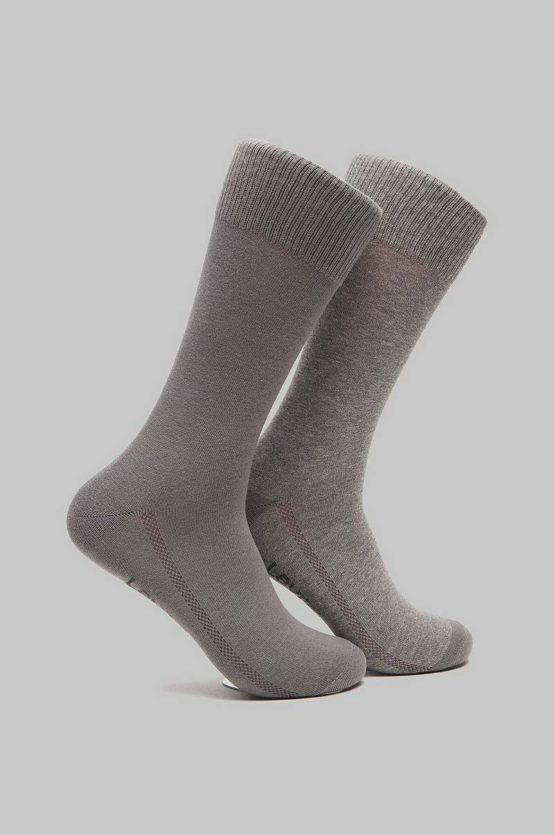 Strømper 2-pack Reg Cut Sock 884 Black