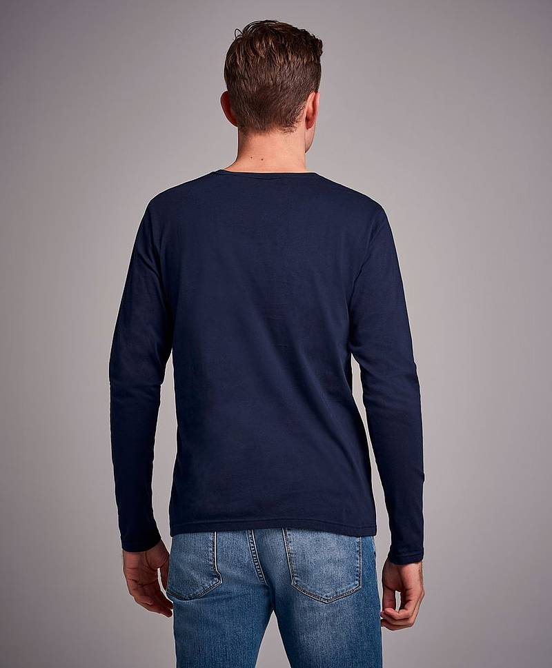 Genser Shield LS T-shirt Evening Blue