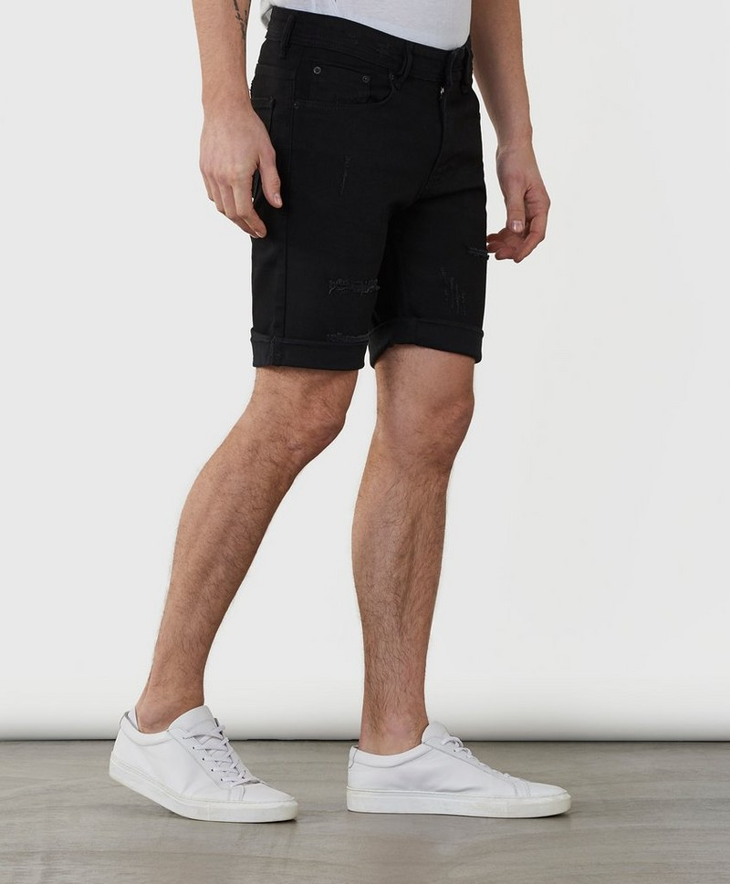 Jeansshorts Mike Short Super