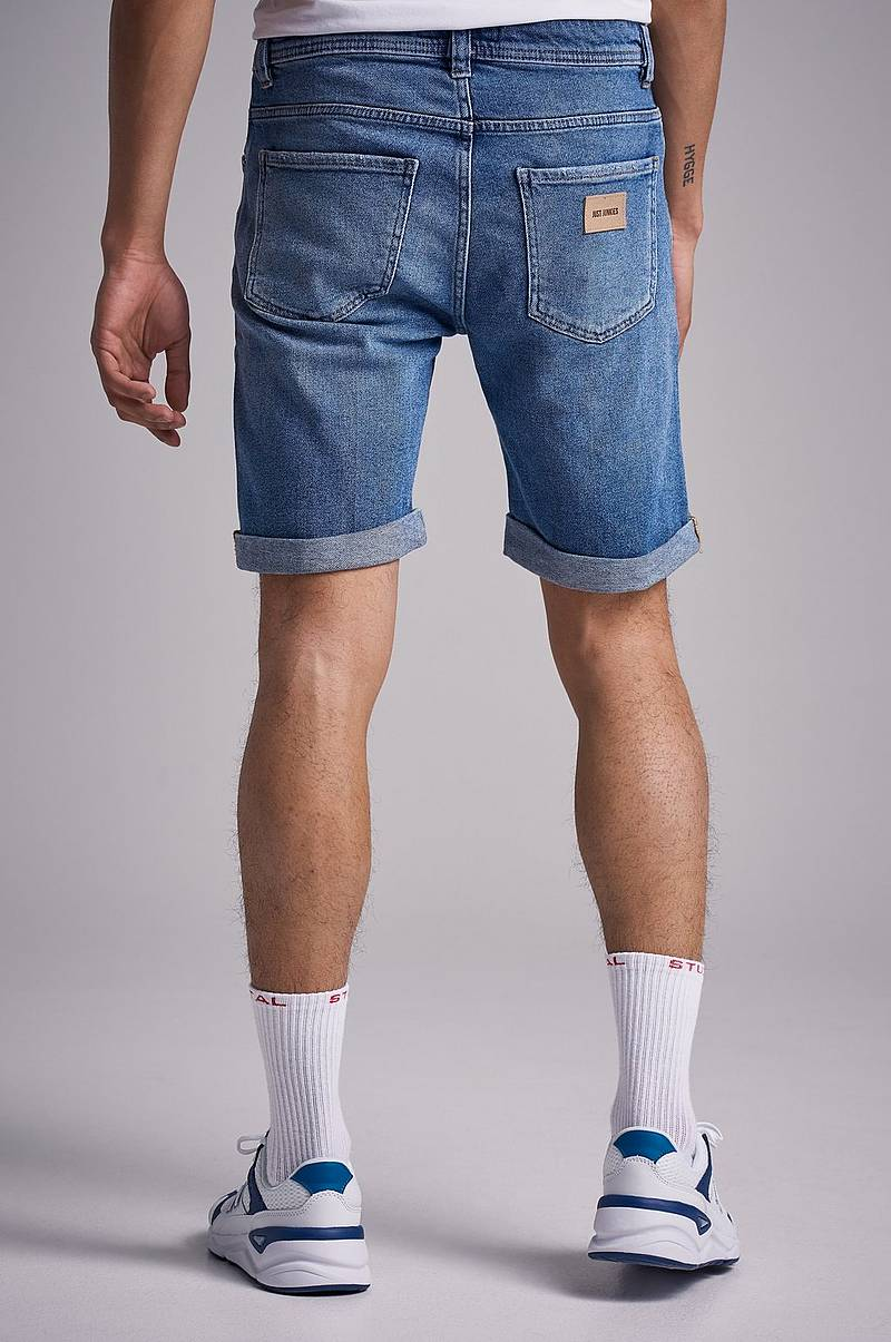 Jeansshorts Mike Short PBH Pilo Blue Holes