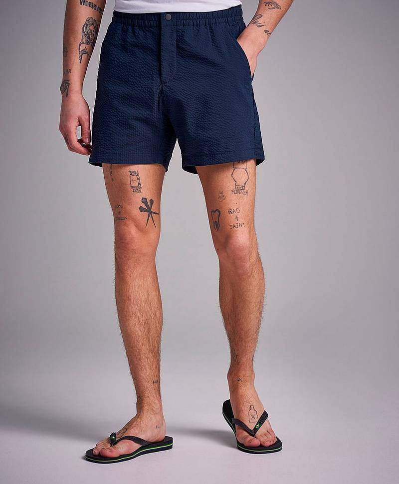 Create Shorts Navy - 02