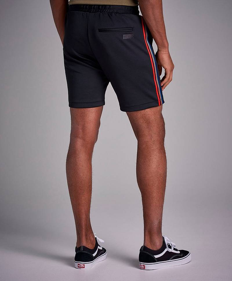 Lopes Main Tape Shorts Black