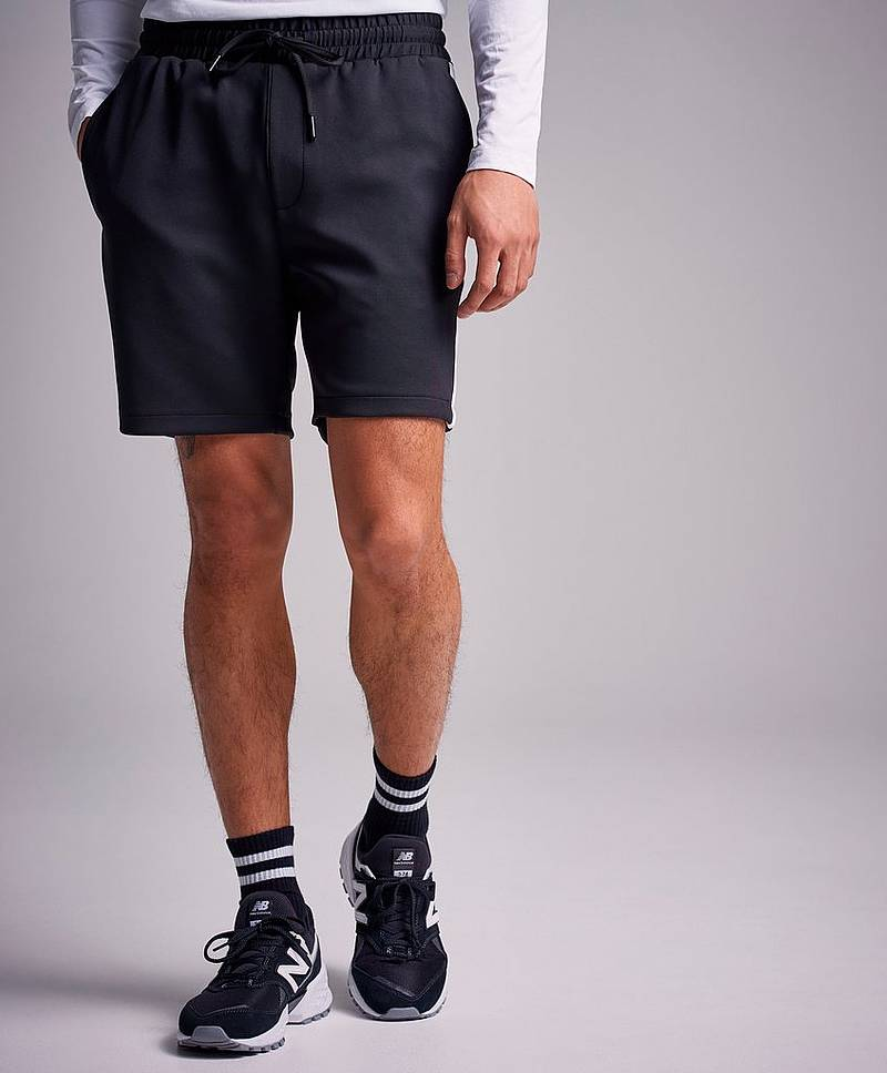 Shorts Alfred Short Track Black / Offwhite