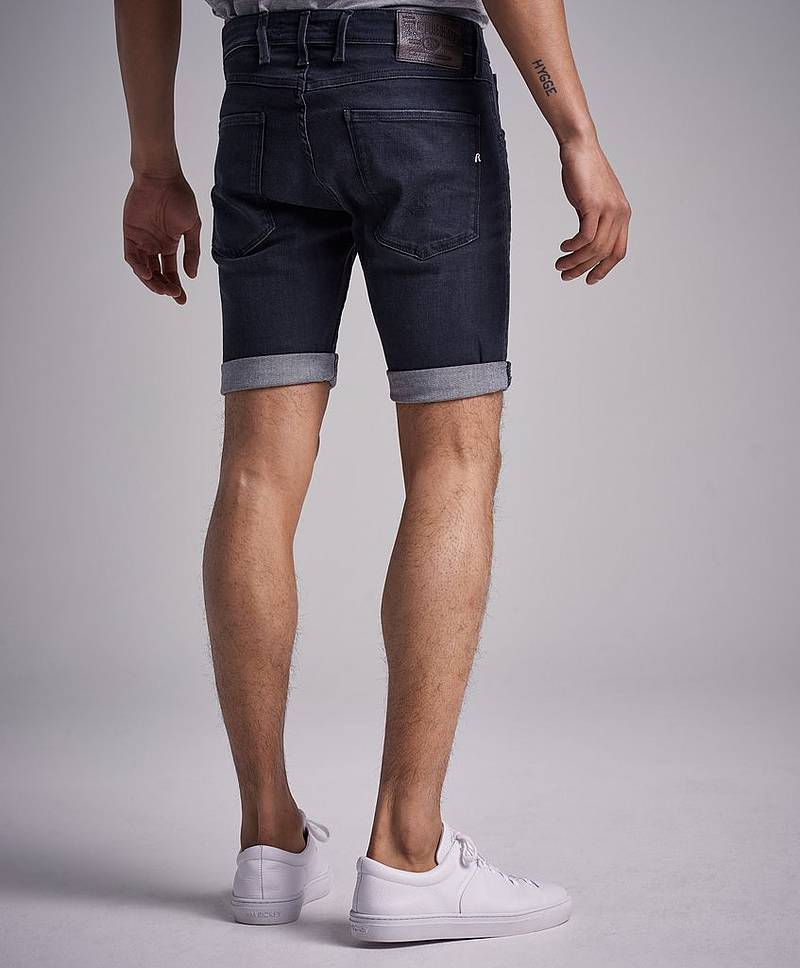 Denimshorts Anbass Short Black
