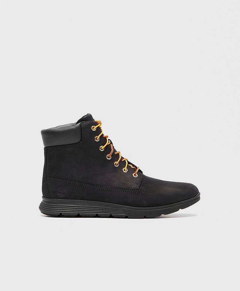 Killington 6 Inch Boot Black Nubuck