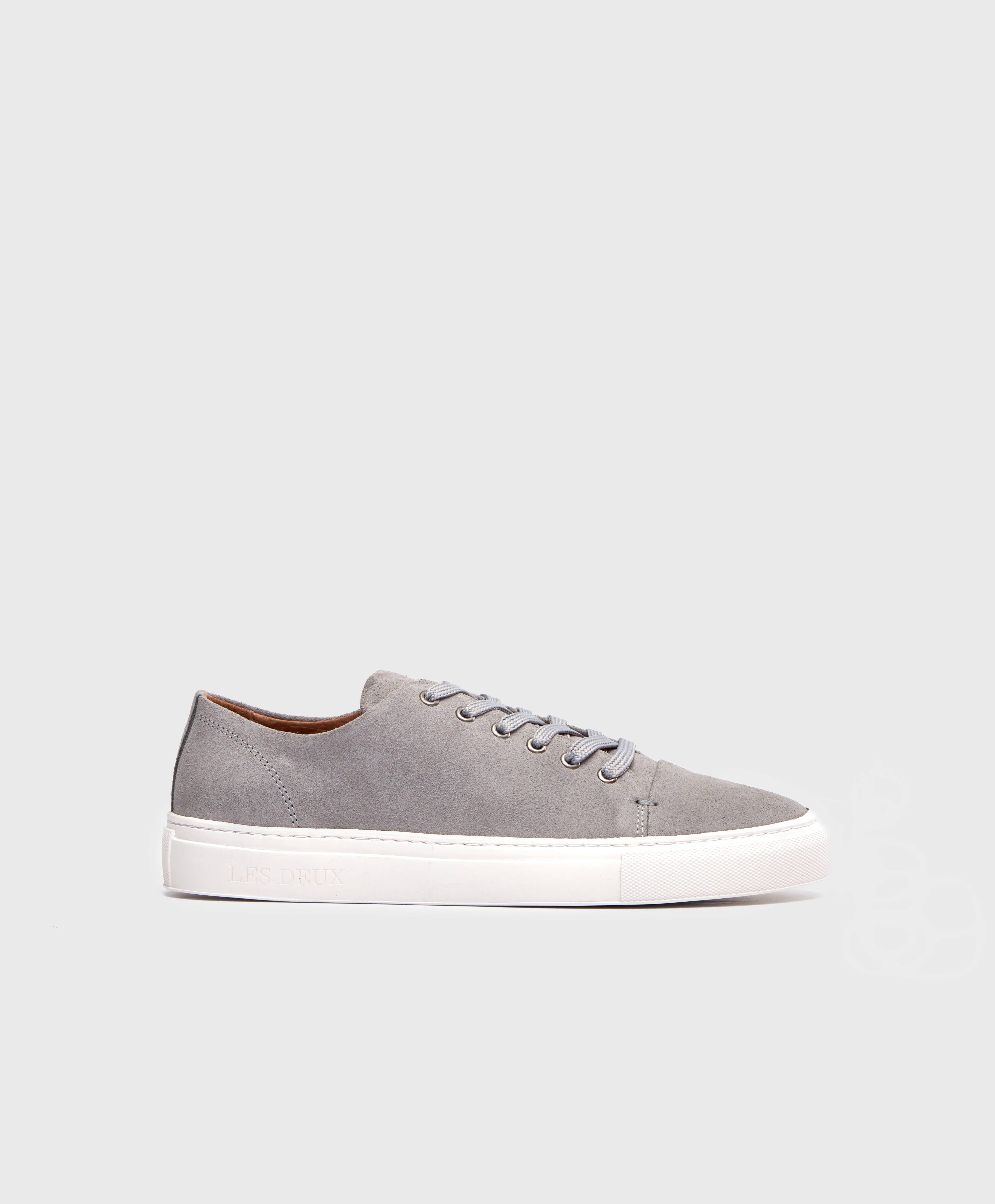 Les Deux Sneakers Albert Shoes Navy Grå Skor Stayhard.se