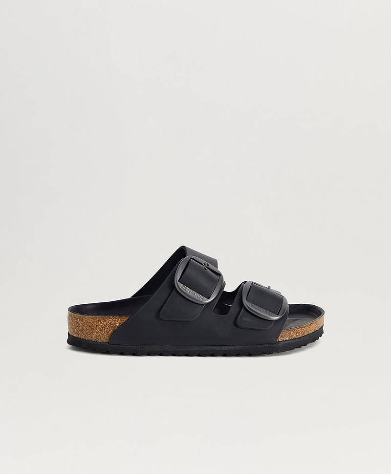 Sandaler Arzona Big Buckle Cognac