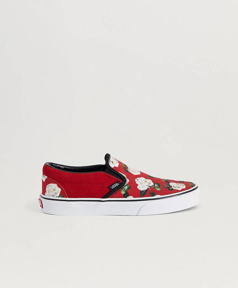 UA Classic Slip - On Romantic Floral Chili P