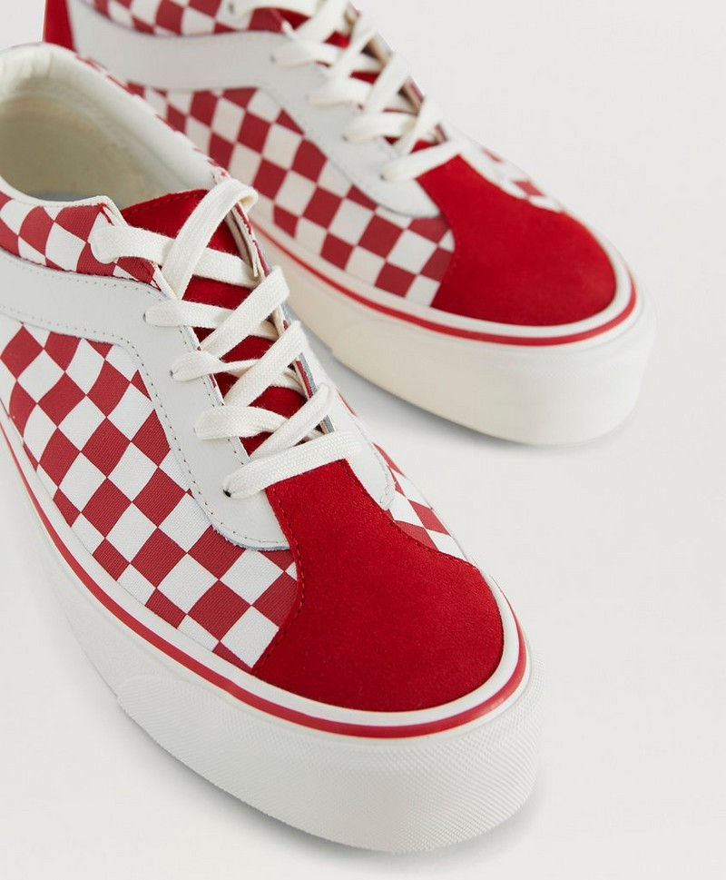 Sneakers UA Bold NI Checkerboard Racing Red