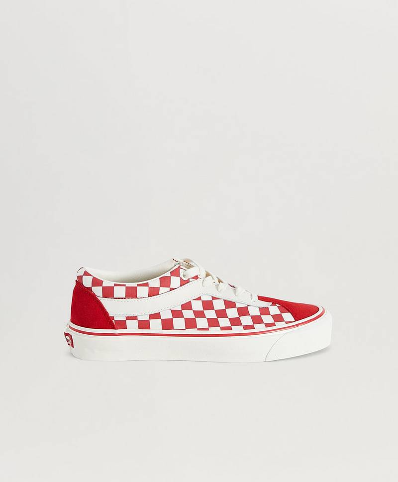UA Bold NI Checkerboard Racing Red