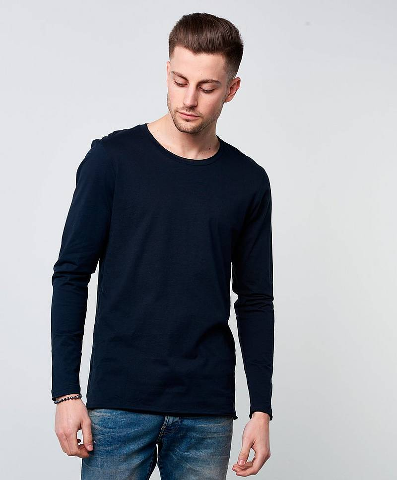 Longsleeve Relaxed Dark Navy