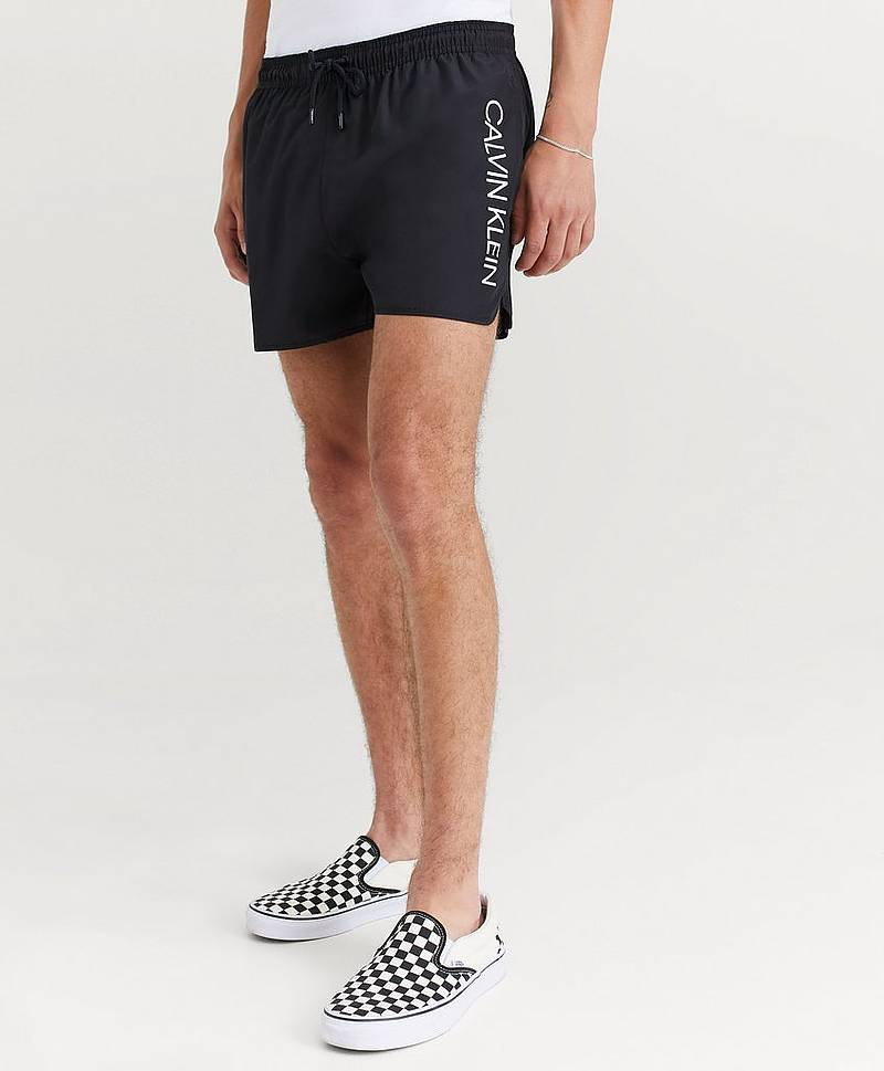 Uimashortsit Graphic Shorts Black
