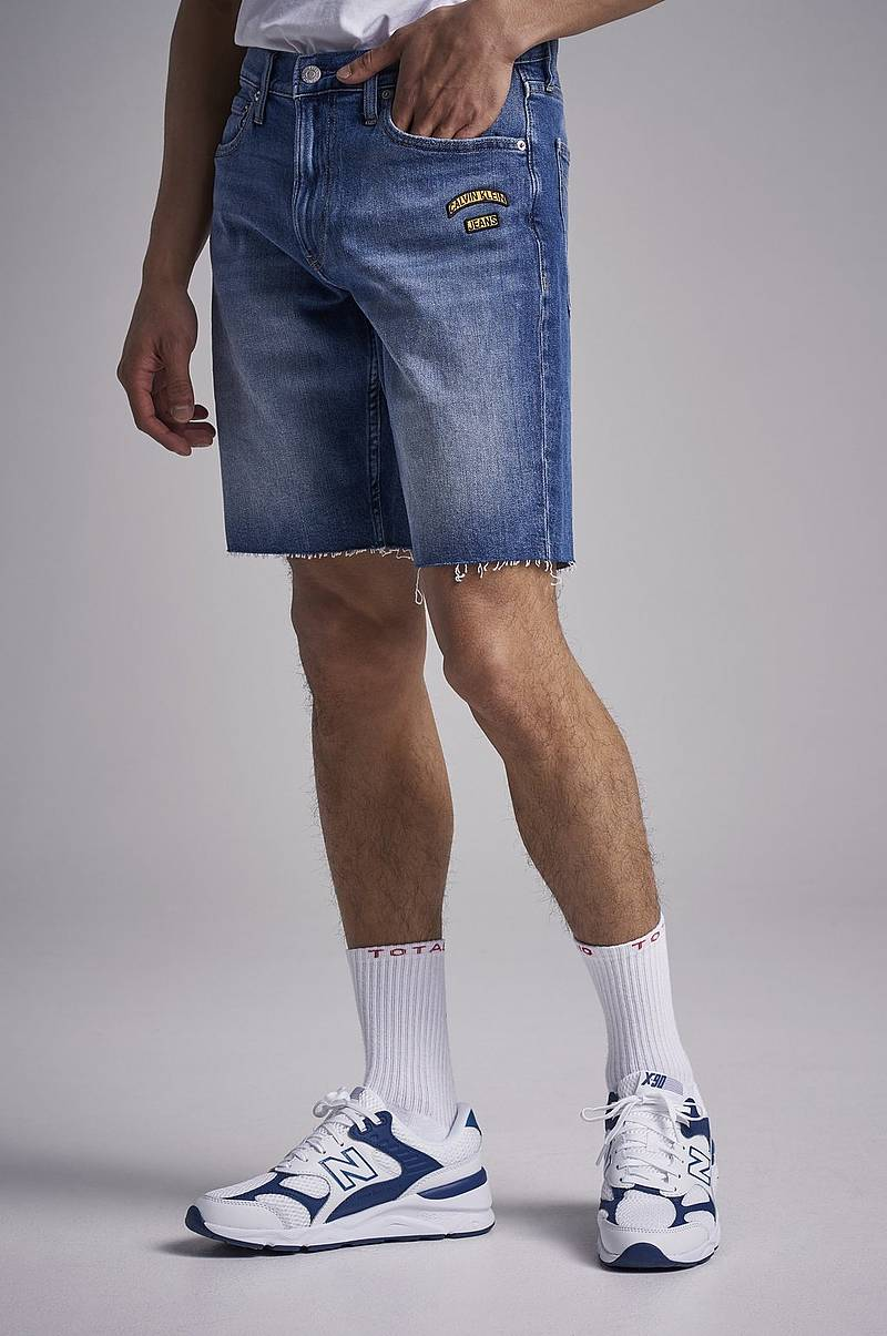 Jeansshorts Slim Short 911 Berger Blue Western Badges