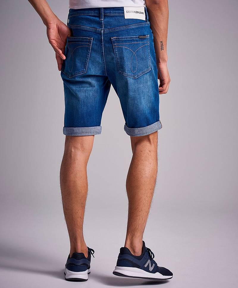 Jeansshorts Slim Short 911 Omega Blue