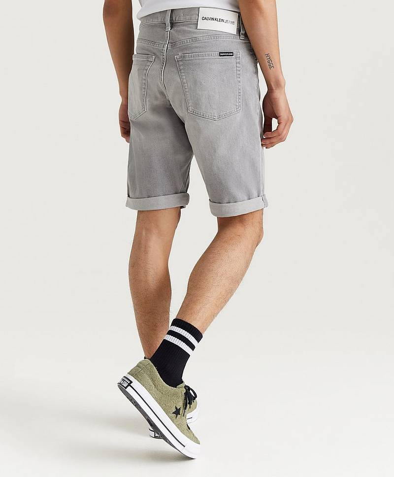 Slim Short 911 Mario Grey