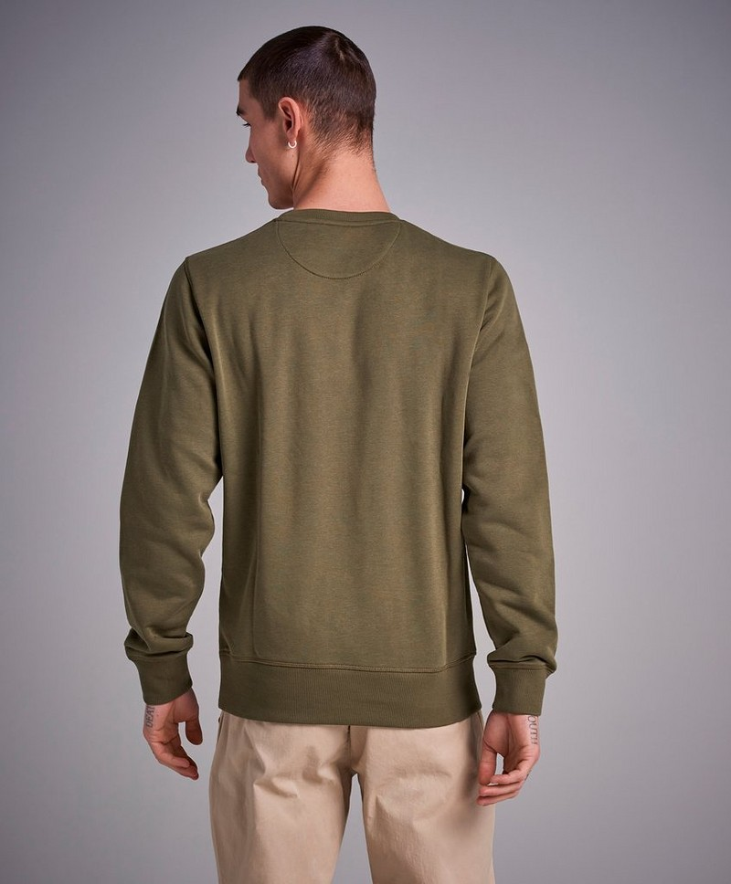 Sweatshirt The Original C-Neck Sweat Field Green