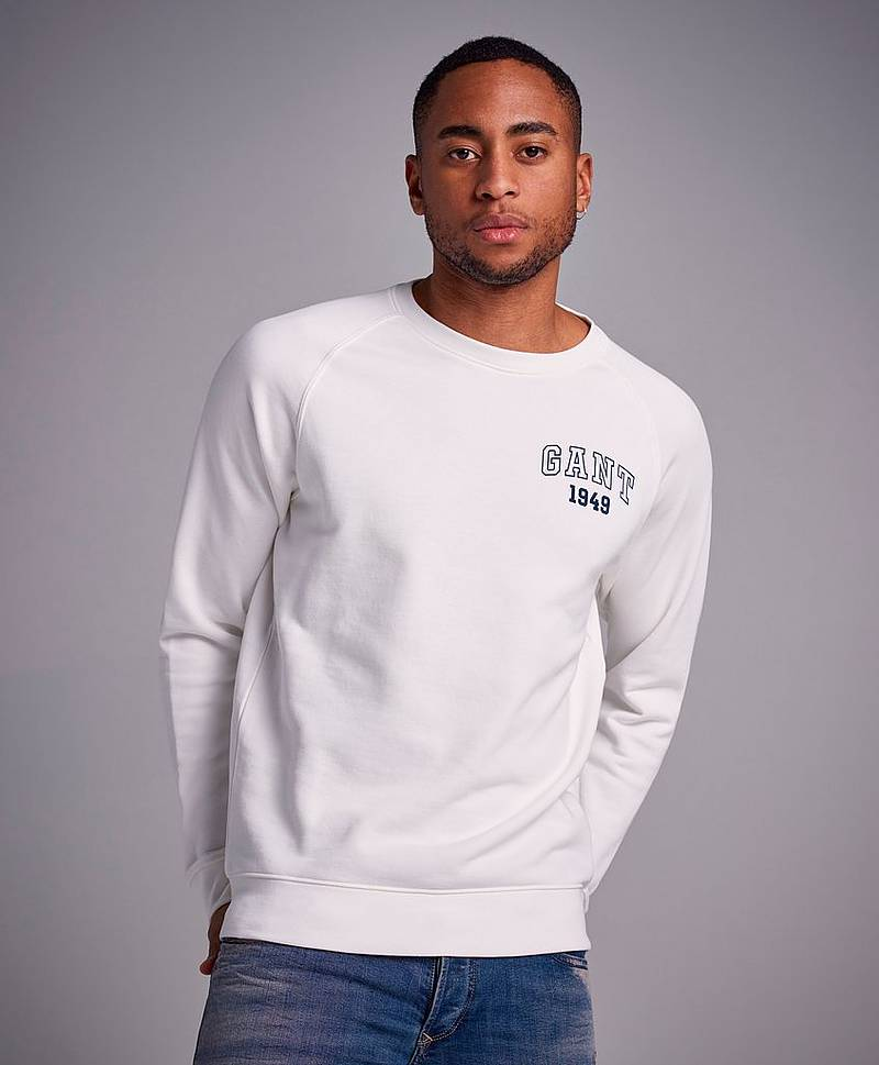 The Summer Logo C-Neck Sweat Grey Melange