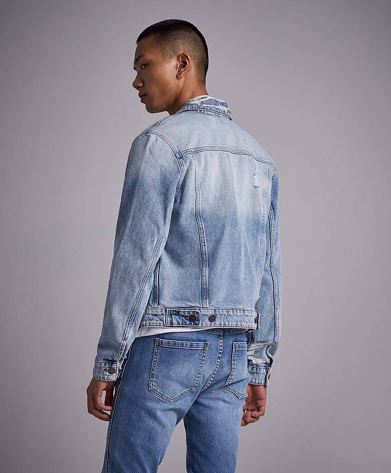 Jeansjacka Legit Jacket Hex Blue
