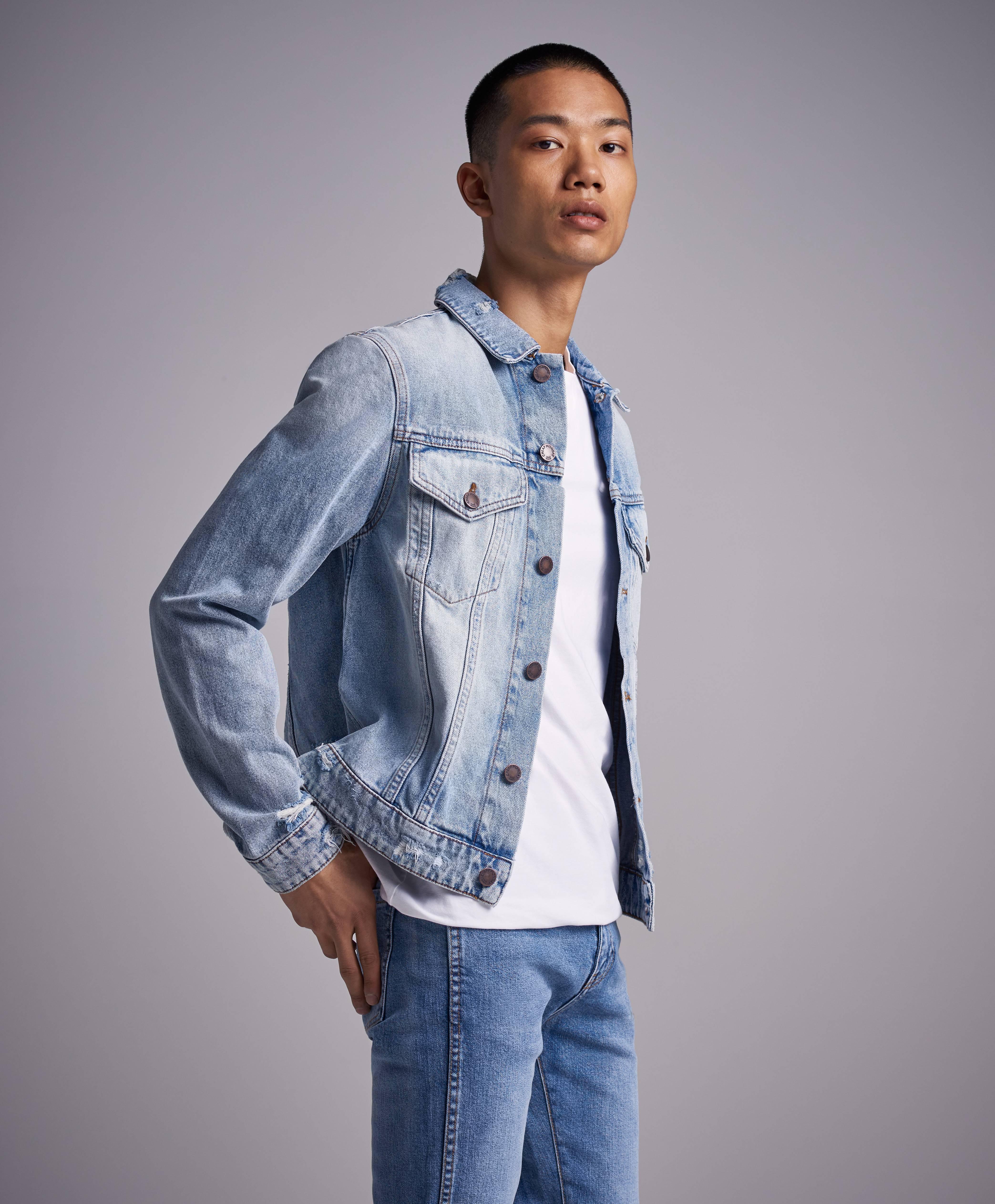 Cheap Monday Jeansjacka Legit Jacket Hex Blue Blå Kläder