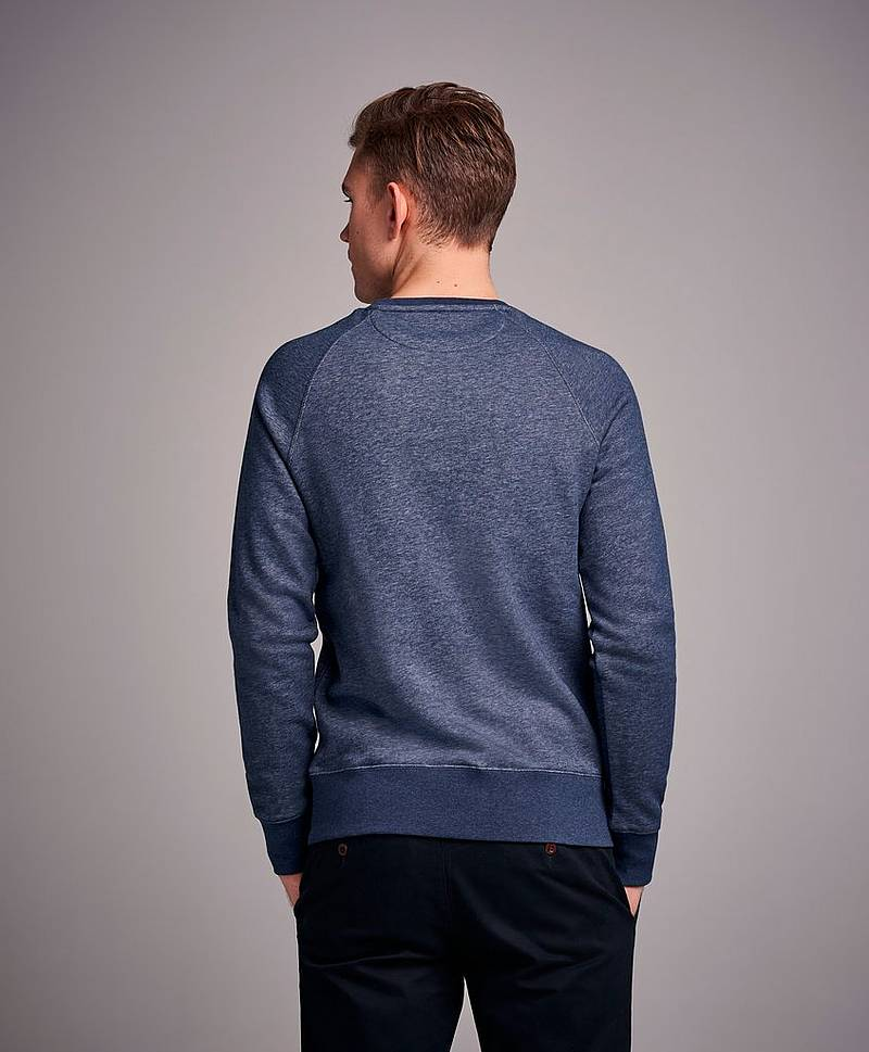 Gant Shield C-Neck Sweat Evening Blue