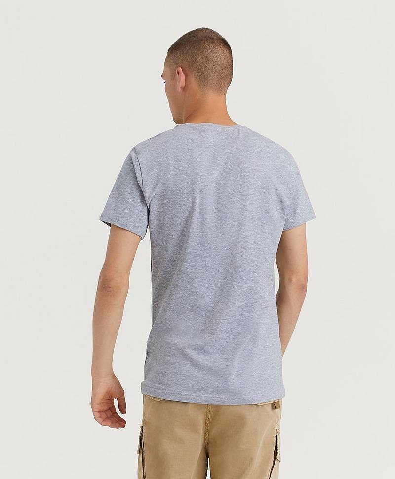 2-pack Crew Neck Tee Grey Melange