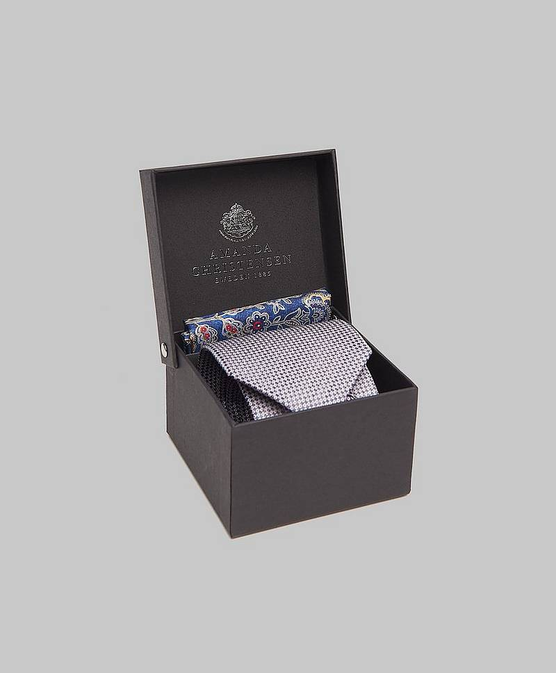 Tie & Hankie Box Set 710010 Navy